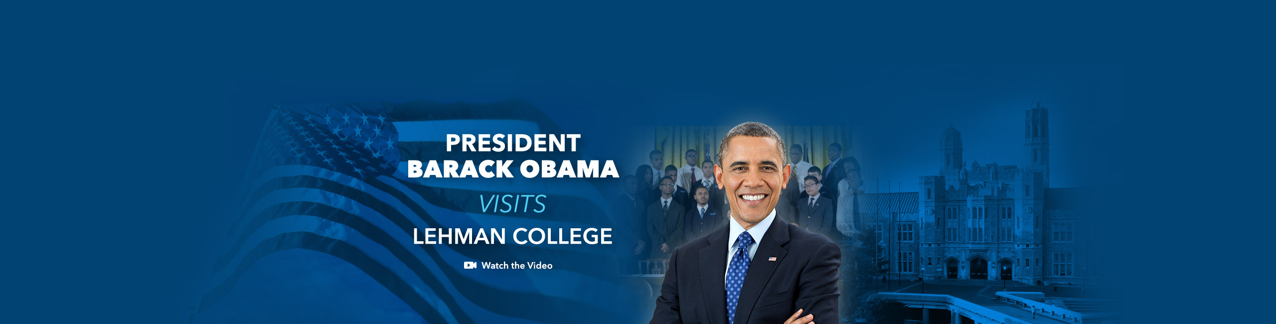 Lehman College Welcomes President Barack Obama