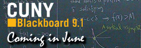 Blackboard 9.1 Upgrade Banner