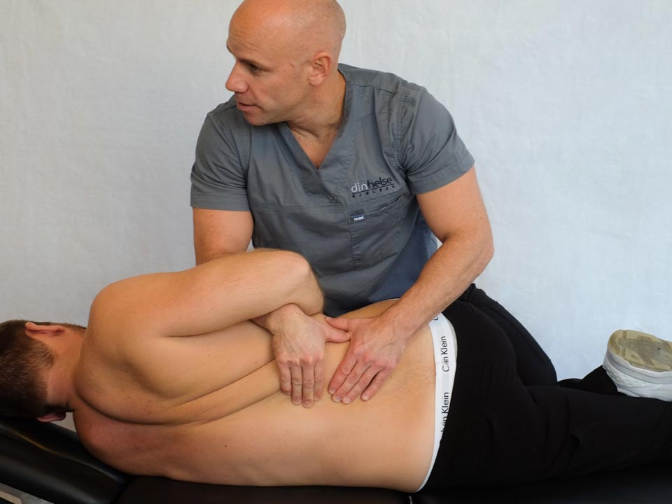 Photo of Physical Therapist and Patient