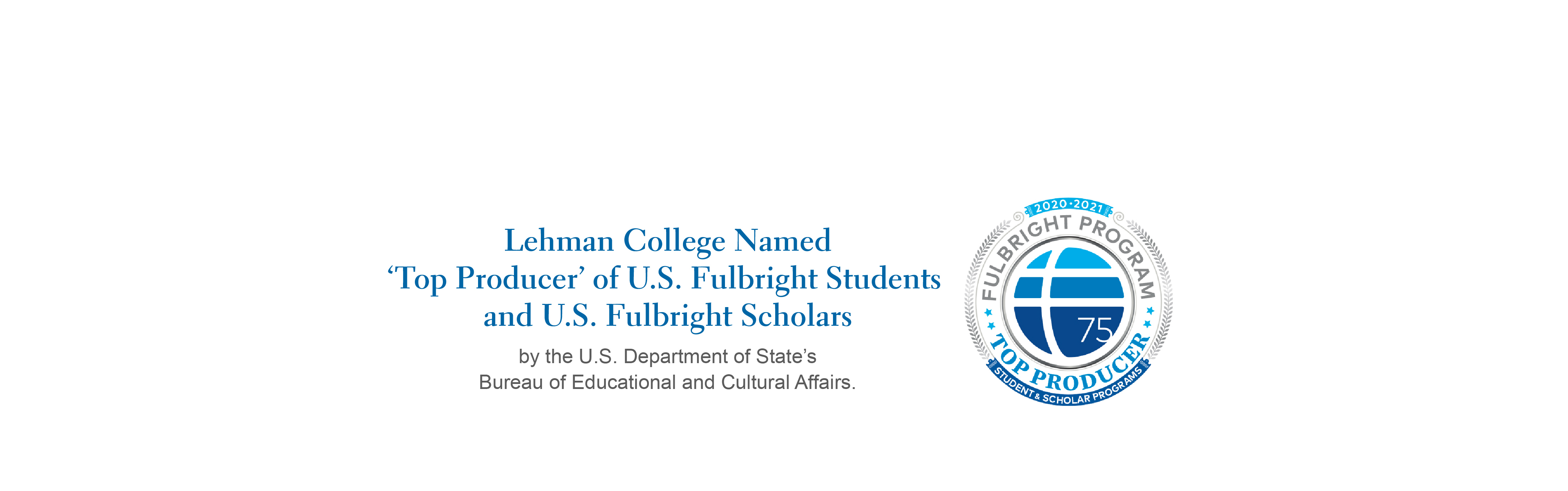 Fulbright Scholars Recognition 2020-2021 Academic Year